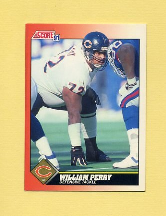 1991 Score Football #390 William Perry - Chicago Bears