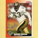 1991 Score Football #382 Vaughan Johnson - New Orleans Saints