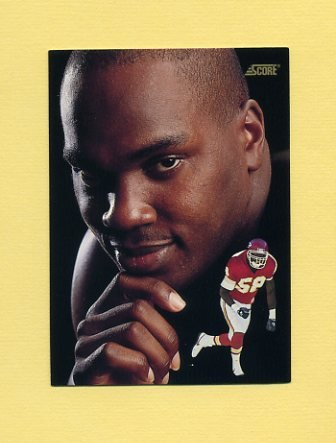 1991 Score Football #342 Derrick Thomas DT - Kansas City Chiefs