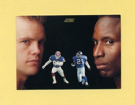 1991 Score Football #331 Reyna Thompson / Steve Tasker DT