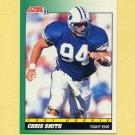 1991 Score Football #316 Chris Smith RC