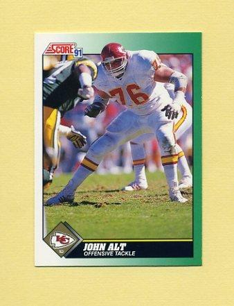 1991 Score Football #246 John Alt - Kansas City Chiefs