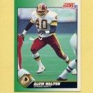 1991 Score Football #240 Alvin Walton - Washington Redskins