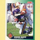1991 Score Football #227 Eugene Marve - Tampa Bay Buccaneers