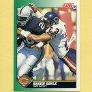 1991 Score Football #223 Shaun Gayle - Chicago Bears
