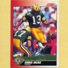 1991 Score Football #213 Chris Jacke - Green Bay Packers