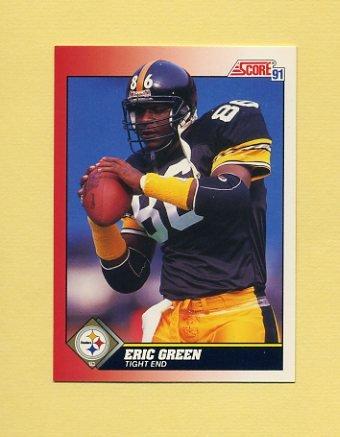 1991 Score Football #186 Eric Green - Pittsburgh Steelers
