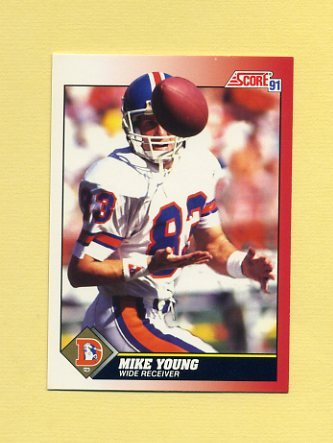 1991 Score Football #185 Michael Young - Denver Broncos