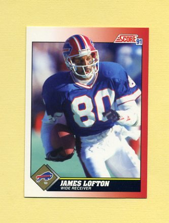 1991 Score Football #180 James Lofton - Buffalo Bills