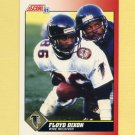 1991 Score Football #163 Floyd Dixon - Atlanta Falcons