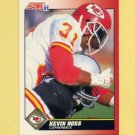 1991 Score Football #151 Kevin Ross - Kansas City Chiefs