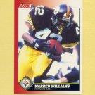 1991 Score Football #112 Warren Williams - Pittsburgh Steelers