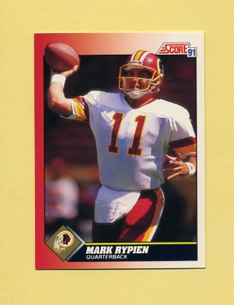 1991 Score Football #111 Mark Rypien - Washington Redskins