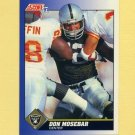 1991 Score Football #062 Don Mosebar - Los Angeles Raiders