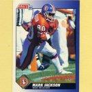1991 Score Football #041 Mark Jackson - Denver Broncos