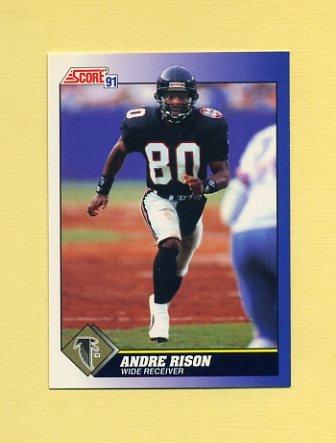 1991 Score Football #026 Andre Rison - Atlanta Falcons
