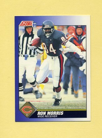 1991 Score Football #024 Ron Morris - Chicago Bears