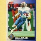 1991 Score Football #010 Gerald McNeil - Houston Oilers