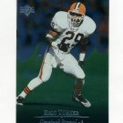 1996 Upper Deck Silver Football #157 Eric Turner - Cleveland Browns