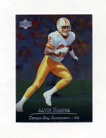 1996 Upper Deck Silver Football #119 Alvin Harper - Tampa Bay Buccaneers