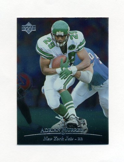 1996 Upper Deck Silver Football #111 Adrian Murrell - New York Jets