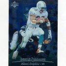 1996 Upper Deck Silver Football #016 Bernie Parmalee - Miami Dolphins