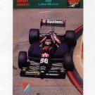 1992 Collect-A-Card Andretti Racing #74 Jeff Andretti's Car