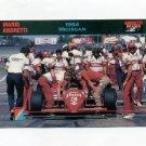 1992 Collect-A-Card Andretti Racing #62 Mario Andretti's Car