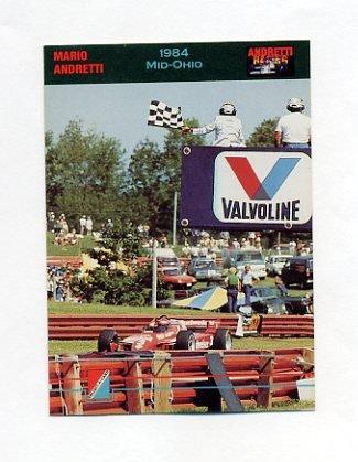 1992 Collect-A-Card Andretti Racing #61 Mario Andretti's Car