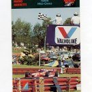 1992 Collect-A-Card Andretti Racing #61 Mario Andretti's Car