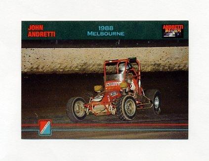 1992 Collect-A-Card Andretti Racing #37 John Andretti's Car