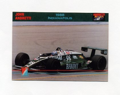1992 Collect-A-Card Andretti Racing #27 John Andretti's Car