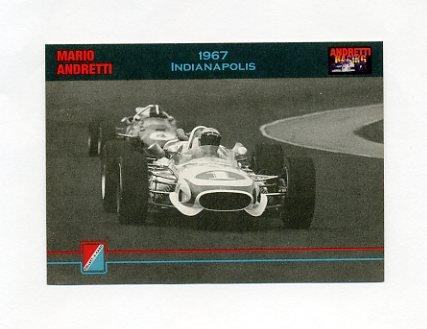 1992 Collect-A-Card Andretti Racing #25 Mario Andretti's Car