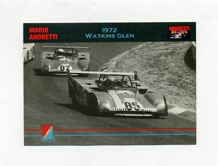 1992 Collect-A-Card Andretti Racing #21 Mario Andretti's Car