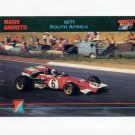 1992 Collect-A-Card Andretti Racing #18 Mario Andretti's Car