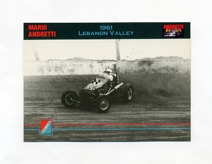 1992 Collect-A-Card Andretti Racing #02 Mario Andretti's Car