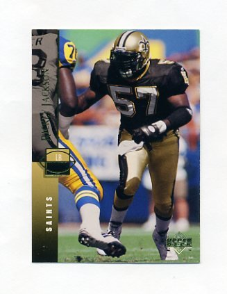 1994 Upper Deck Football #139 Rickey Jackson - New Orleans Saints