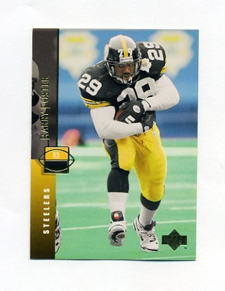 1994 Upper Deck Football #115 Barry Foster - Pittsburgh Steelers