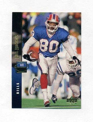 1994 Upper Deck Football #108 Bill Brooks - Buffalo Bills