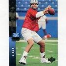 1994 Upper Deck Football #053 Scott Mitchell - Detroit Lions