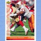 1993 Upper Deck Football #521 Santana Dotson - Tampa Bay Buccaneers