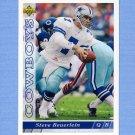1993 Upper Deck Football #494 Steve Beuerlein - Dallas Cowboys