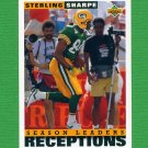1993 Upper Deck Football #424 Sterling Sharpe - Green Bay Packers