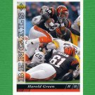 1993 Upper Deck Football #401 Harold Green - Cincinnati Bengals