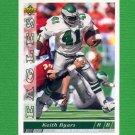 1993 Upper Deck Football #376 Keith Byars - Philadelphia Eagles