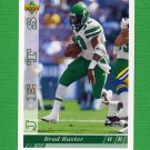 1993 Upper Deck Football #374 Brad Baxter - New York Jets