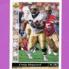 1993 Upper Deck Football #299 Craig Heyward - Chicago Bears