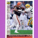 1993 Upper Deck Football #290 Michael Dean Perry - Cleveland Browns