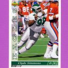 1993 Upper Deck Football #265 Clyde Simmons - Philadelphia Eagles
