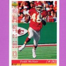 1993 Upper Deck Football #180 Todd McNair - Kansas City Chiefs